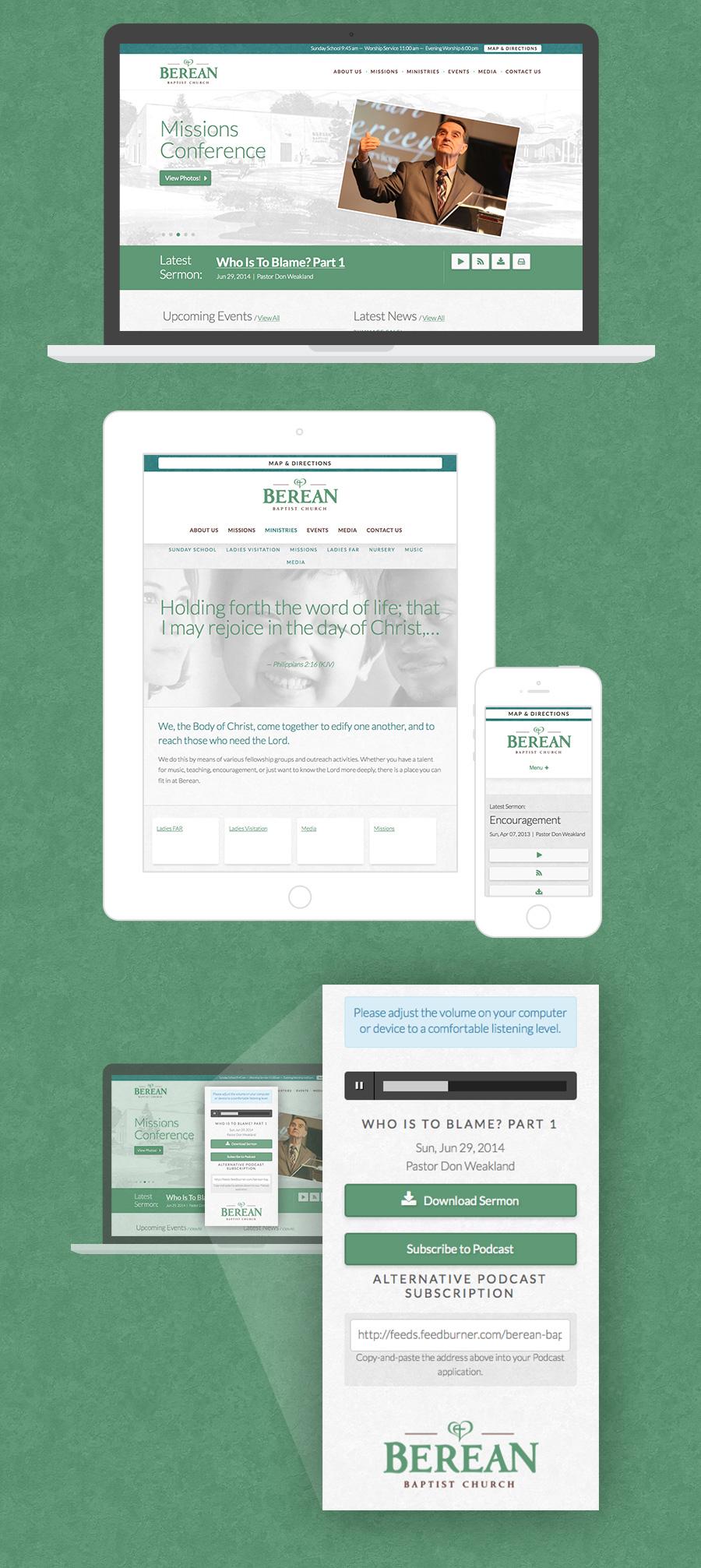 Berean Baptist Church Website