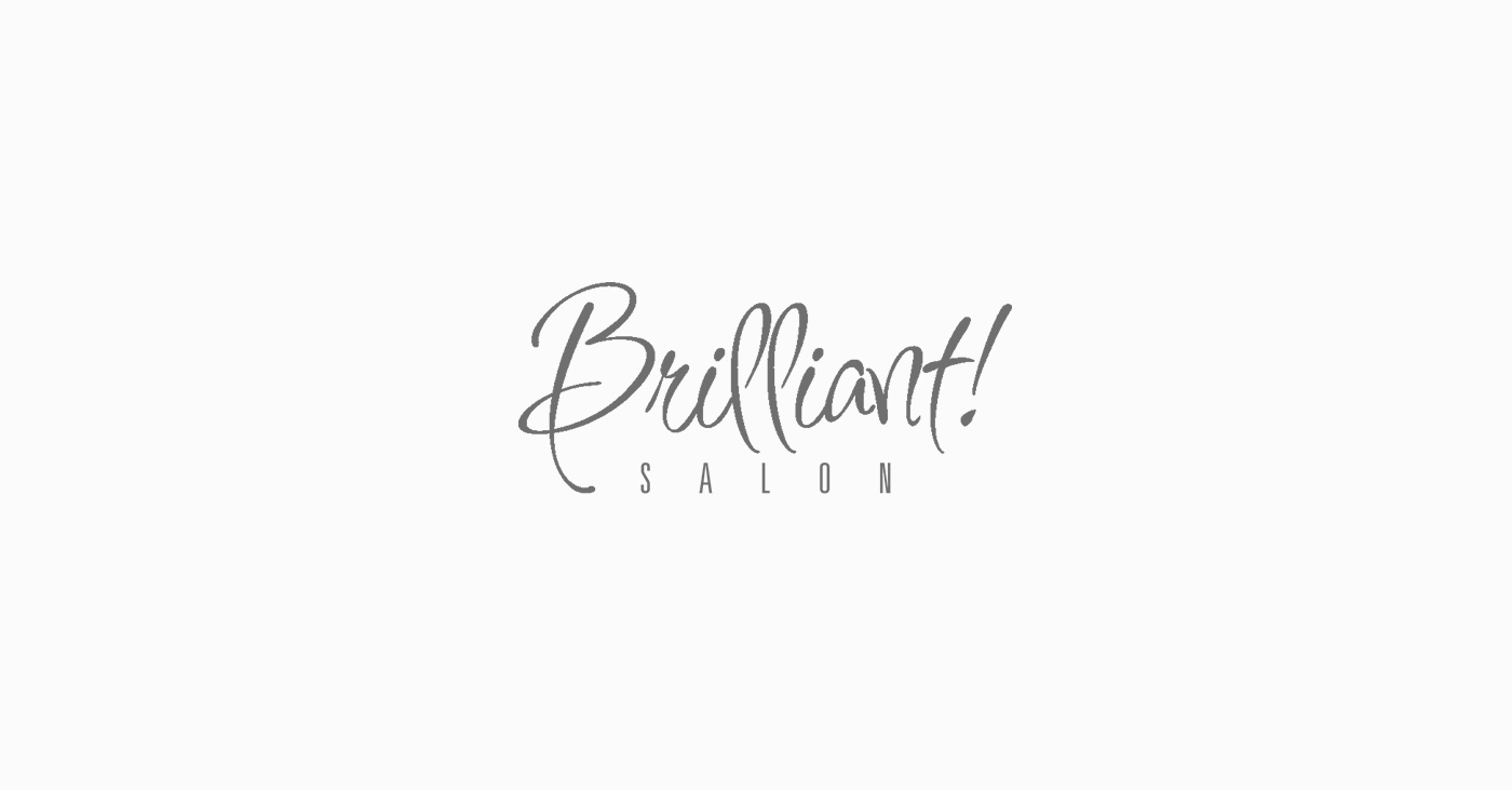 Brilliant Salon Logo