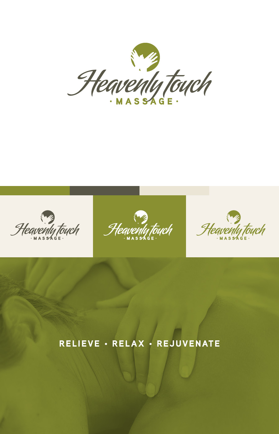 Heavenly Touch Massage Branding