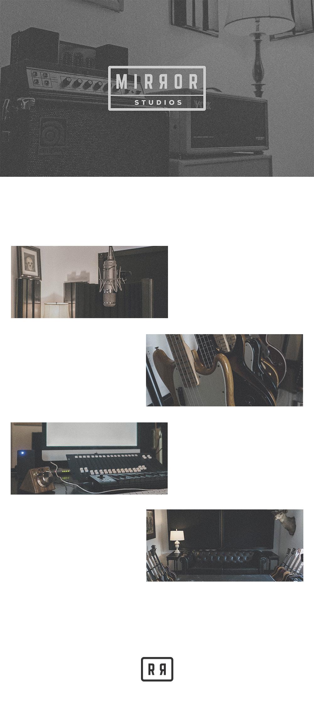 Mirror Studios Branding